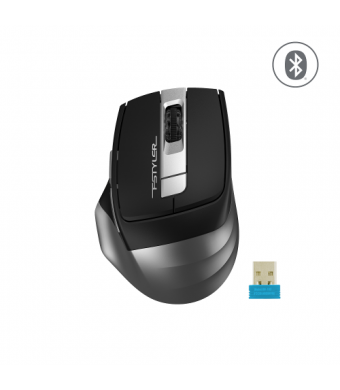 A4 Tech FB35 Gri Kablosuz + Bluetooth Mouse