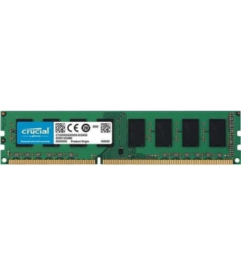 Crucial 4GB 1600MHz DDR3 CL11 1,35V CT51264BD160B Desktop