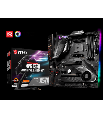 MSI MPG X570 GAMING PRO CARBON DDR4 M.2 S+V+GL AM4