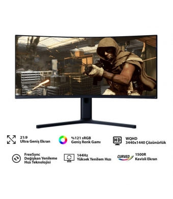 "Xiaomi 34"" BHR4269GL WUHD Curved Gaming Monitör"